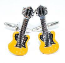 Gemelos Guitarra Yellow Rockstar