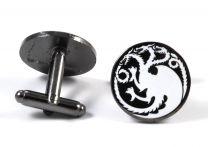Gemelos para camisa Escudo Casa Targaryen - Juego de Tronos