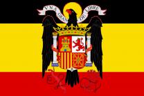 Bandera Española Aguila de San Juan 90x150cm