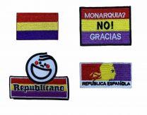 Pack de Parches Republicanos Gemelolandia - 4 parches