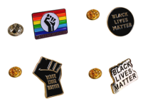 Pack Pines de Solapa Black Lives Matter