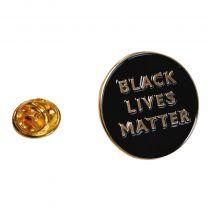 Pin de Solapa Black Lives Matter Rounded 25mm