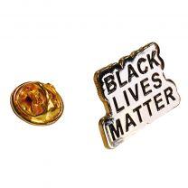 Pin de Solapa Black Lives Matter Words 25x15mm