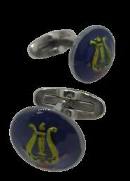 Gemelos de Camisa con Botones Originales Banda de Musica