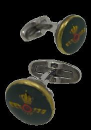 Gemelos de Camisa con Botones Originales Rokiski Aviación Española Mod 3
