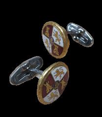 Gemelos de Camisa con Medalla Original Merito Militar