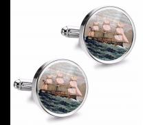 Gemelos de Camisa Magglass Barcos Nº10 16mm