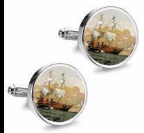 Gemelos de Camisa Magglass Barcos Nº11 16mm