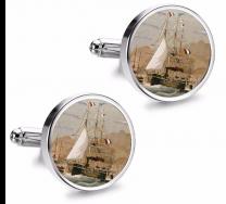 Gemelos de Camisa Magglass Barcos Nº2 16mm