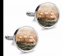Gemelos de Camisa Magglass Barcos Nº8 16mm