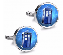Gemelos de Camisa Magglass Cabina Tardis Doctor Who