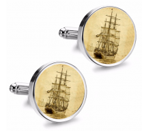 Gemelos de Camisa Magglass Grabados Barcos Nº12 16mm