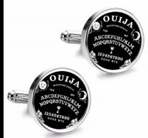 Gemelos de Camisa Magglass Ouija Black 16mm