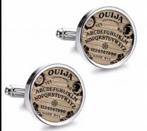 Gemelos de Camisa Magglass Ouija White 16mm