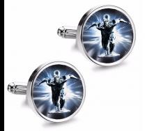 Gemelos de Camisa Magglass Silver Surfer