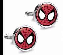 Gemelos de Camisa Magglass Spiderman Face mod 2