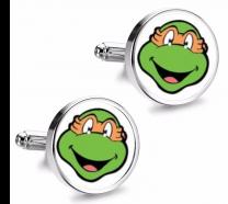 Gemelos de Camisa Magglass Tortugas Ninja Michelangelo