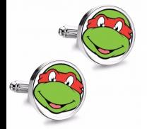 Gemelos de Camisa Magglass Tortugas Ninja Raphael