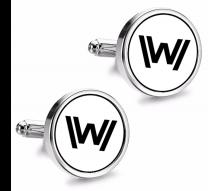 Gemelos de Camisa Magglass Westworld White