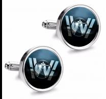 Gemelos de Camisa Magglass Westworld Black