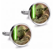 Gemelos de Camisa Magglass Yoda Espada Laser