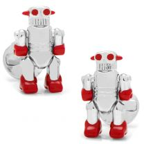 Gemelos Con Movimiento Moving Robot Cufflinks OX & Bull Trading Co