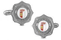 Gemelos de Camisa Policia Local Castilla la Mancha 25mm