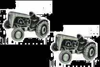 Gemelos de Camisa Tractor Vintage 25x15mm