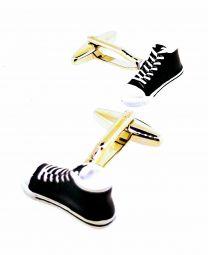 Gemelos de Camisa Zapatillas Sneakers Negras