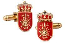 Gemelos para Camisa Academia General Militar de Zaragoza 20x10mm