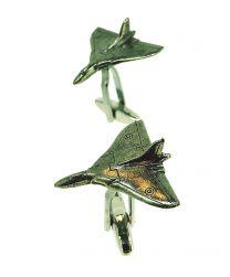 Gemelos para Camisa Avión de Combate Vulcan Bomber