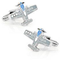 Gemelos para Camisa Avión P-51 Mustang