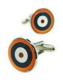 Gemelos para camisa British RAF Roundel WWII