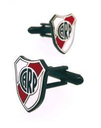 Gemelos para camisa Club Atlético River Plate 17 mm