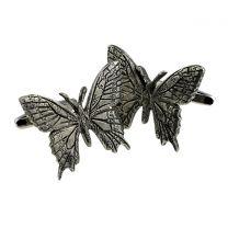 Gemelos para Camisa con Mariposas 30x22mm