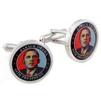 Gemelos para Camisa Emblema Barack Obama