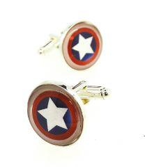 Gemelos para Camisa Escudo Capitán América Magglass