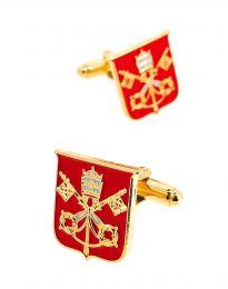 Gemelos para Camisa Escudo de la Santa Sede Vaticano
