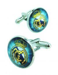 Gemelos para Camisa Escudo Real Madrid FC