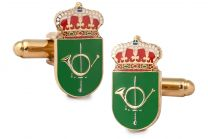 Gemelos para Camisa Escuela Militar de Montaña y Operaciones Especiales 20x10mm