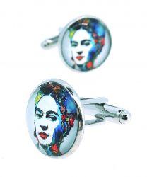 Gemelos para Camisa Frida Kahlo Modelo 3