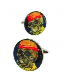 Gemelos para Camisa Hobo Coin MR Elegant Skull