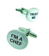 Gemelos para Camisa I Am a Chef Trust Me