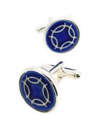 Gemelos para Camisa Kimu Runa de los Deseos Color Azul