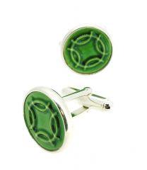 Gemelos para Camisa Kimu Runa de los Deseos Color Verde