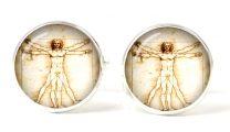 Gemelos Magglass Hombre de Vitruvio de Leonardo da Vinci
