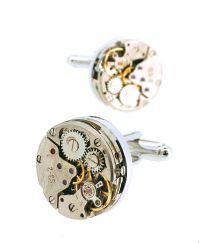Gemelos para Camisa Mechanical Watch Movement Tourbillon