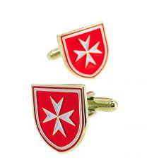 Gemelos para Camisa Orden de los Caballeros Hospitalarios de San Juan de Jerusalem