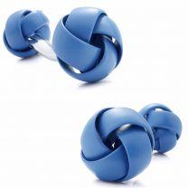 Gemelos para Camisa Rawjco Double Enamel Blue Knot