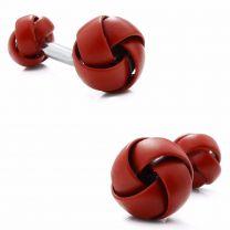 Gemelos para Camisa Rawjco Double Enamel Red Knot